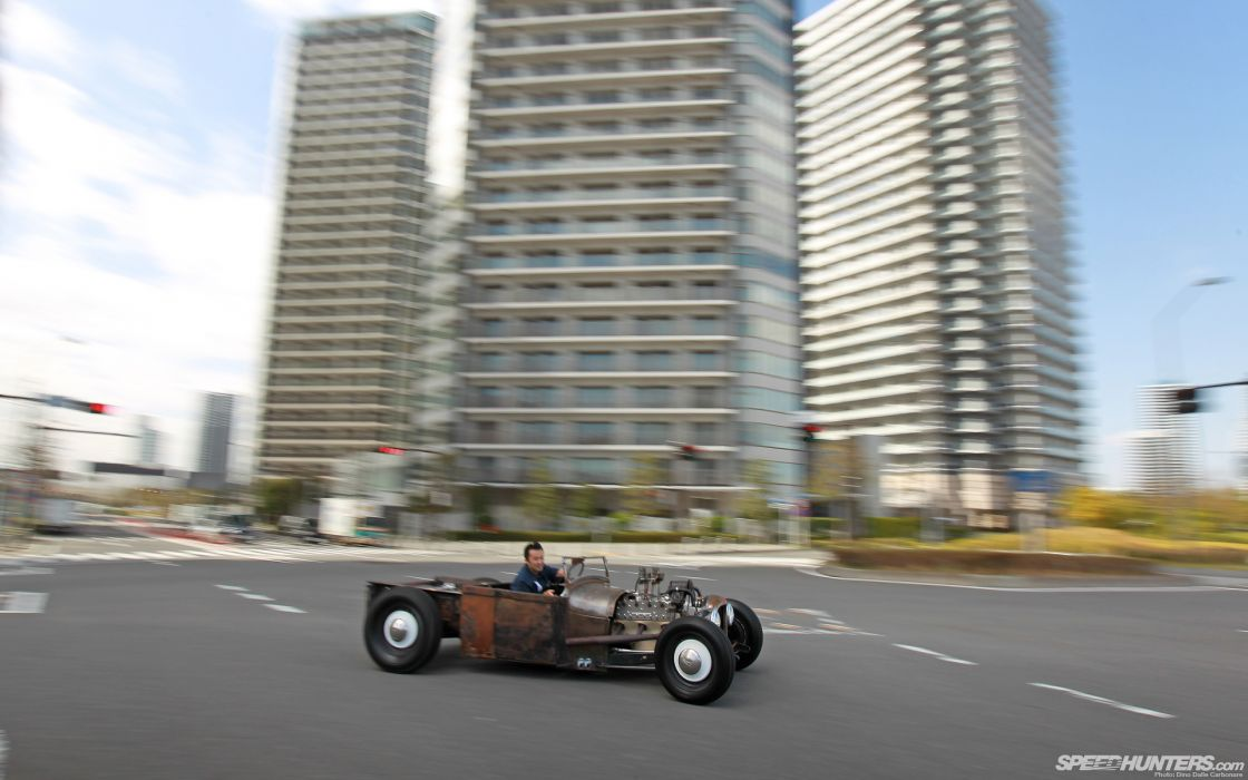 Classic Car Classic Hot Rod Rat Rod Ford Rust   f wallpaper