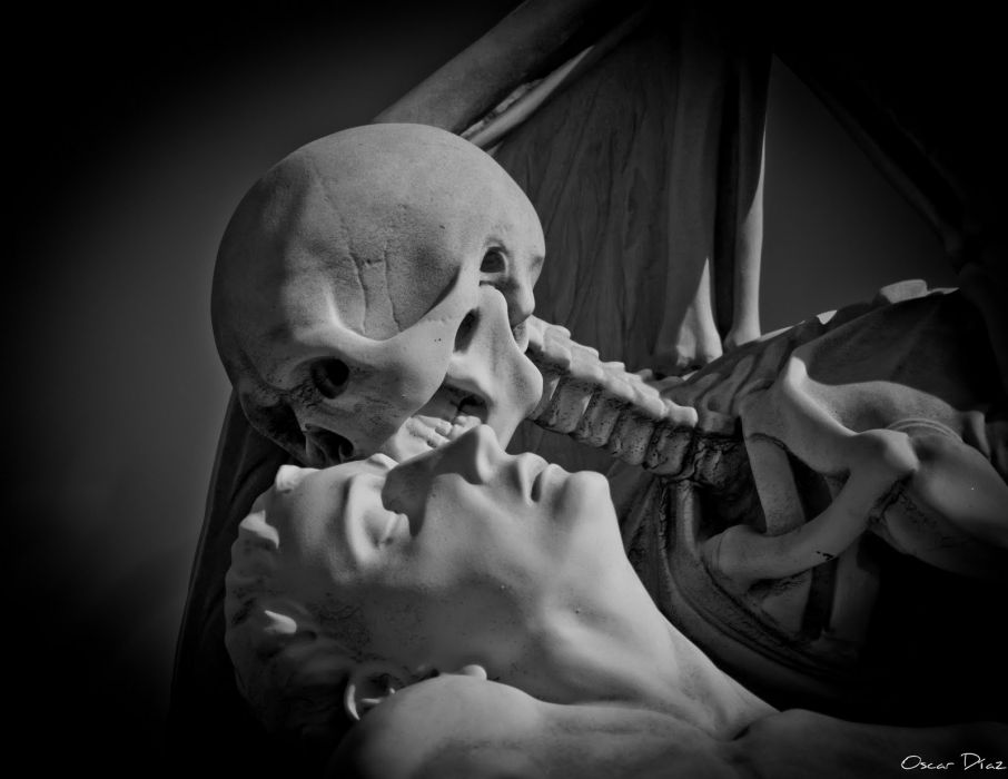 dark skeleton skull wallpaper