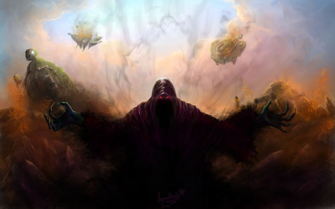 Demon Death Grim Reaper Drawing wallpaper