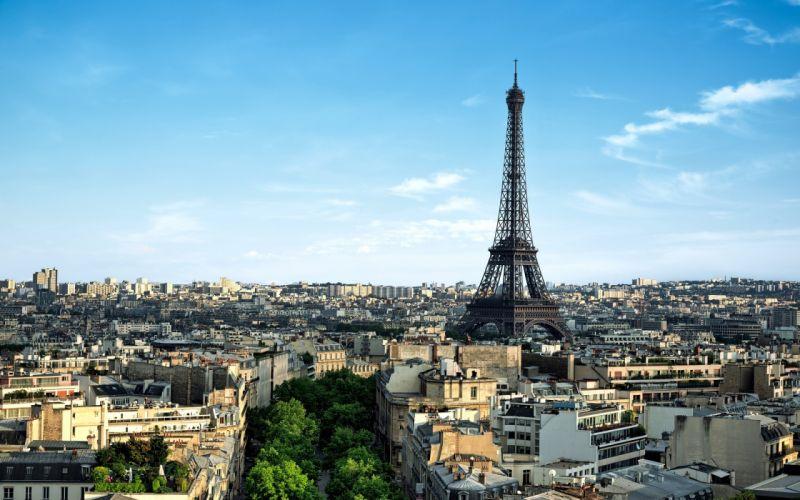 Eiffel Tower cities paris france wallpaper