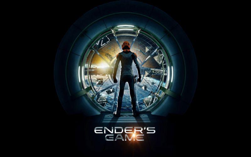Ender's Game Black wallpaper