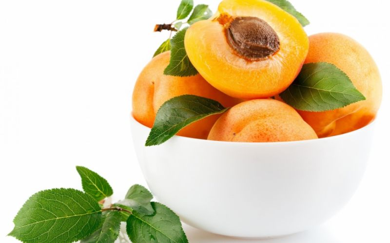 fruit food peaches apricots summer wallpaper