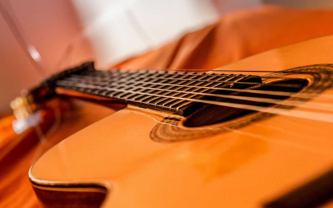 guitar close-up music wallpaper