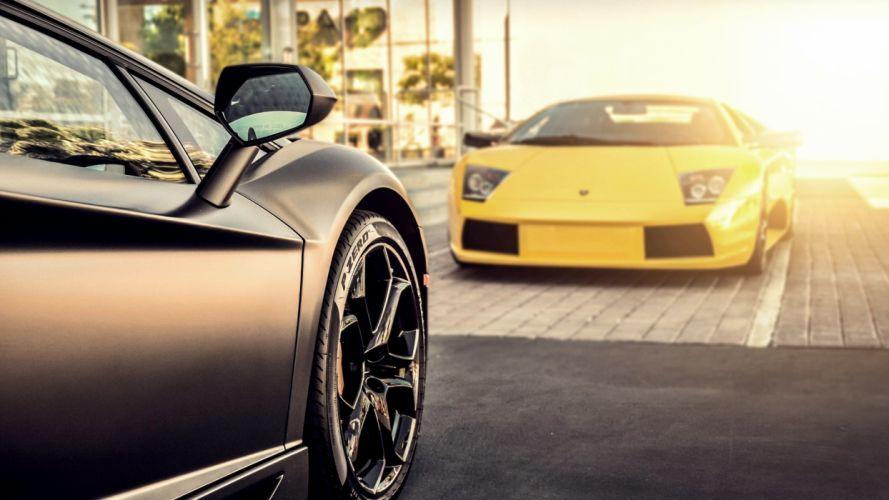Lamborghini Murcielago Aventador Matte supercar wallpaper
