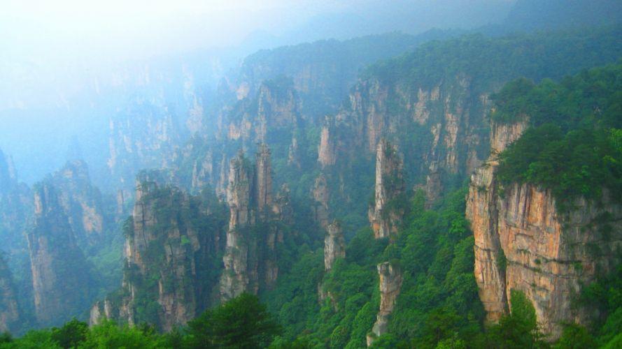landscapes nature mountains wallpaper