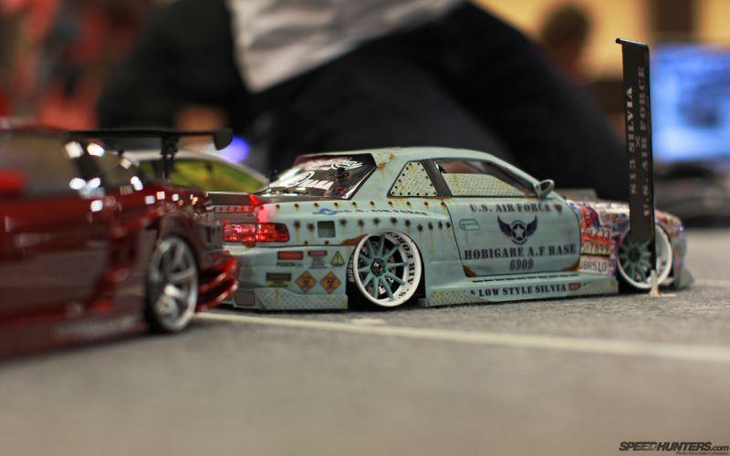 Nissan Silvia tuning toys wallpaper