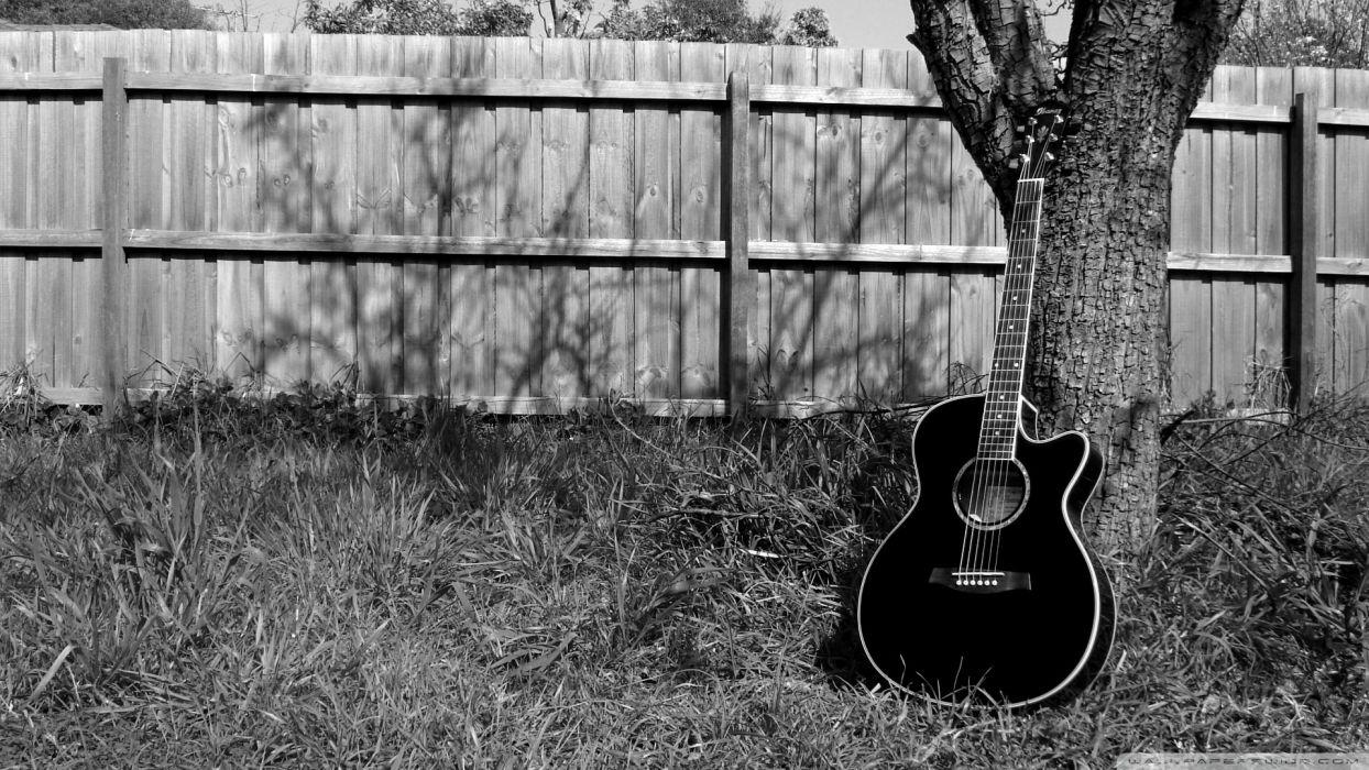 acoustic guitar  wallpaper