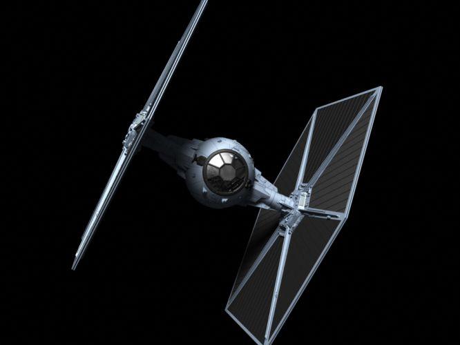 Star Wars Spaceship Black wallpaper