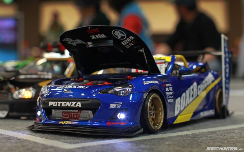 Subaru BRZ race car wallpaper