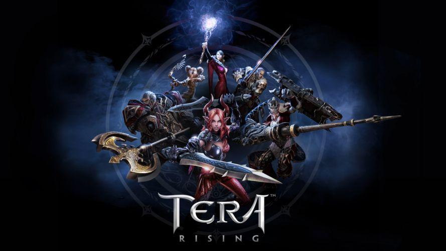 Tera Online anime fantasy f wallpaper