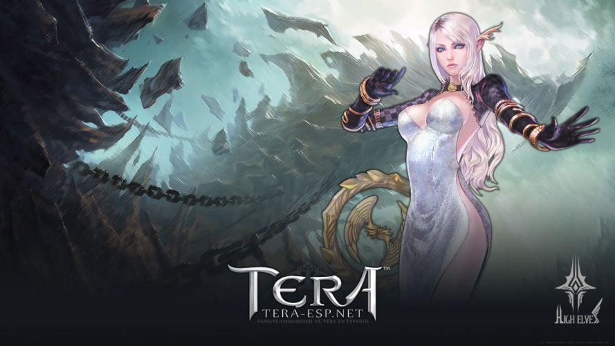 Tera Online fantasy anime d wallpaper