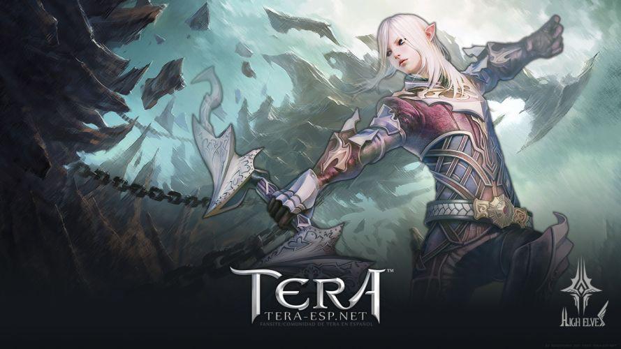 Tera Online fantasy anime e wallpaper