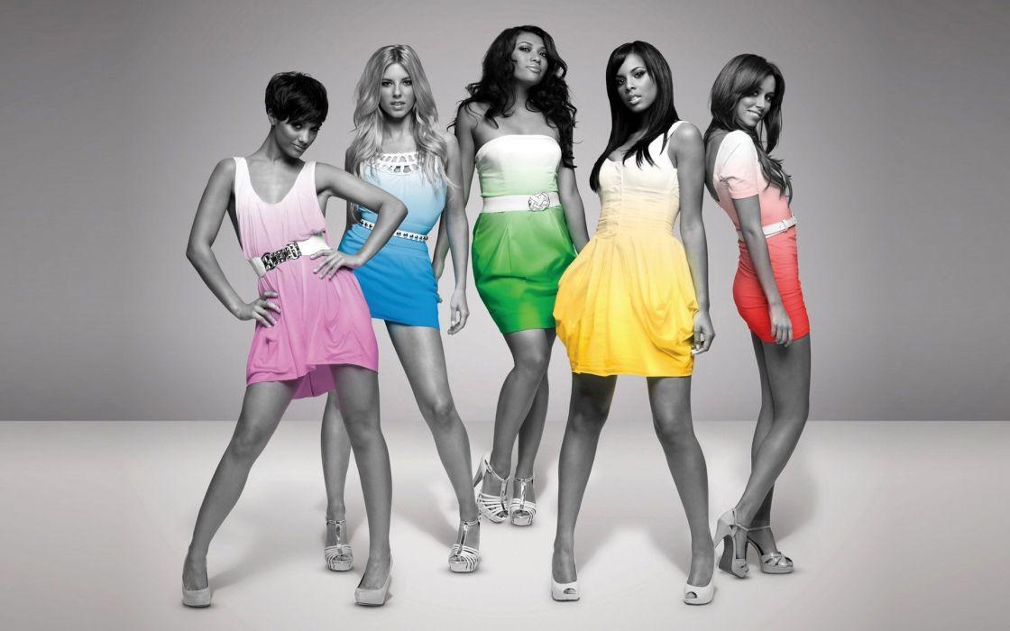 The Saturdays Dress Legs Colorsplash wallpaper