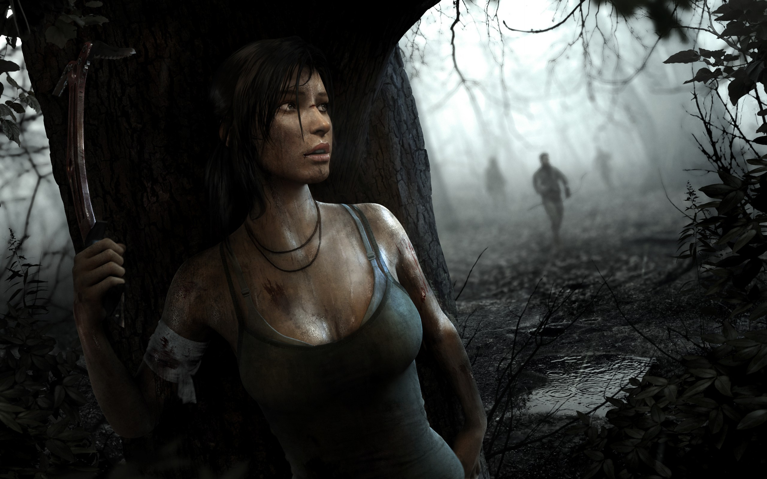 Tomb Raider Lara Croft Wallpaper 2560x1600 67851 Wallpaperup