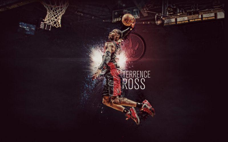 Toronto Terrence Ross nba basketball wallpaper