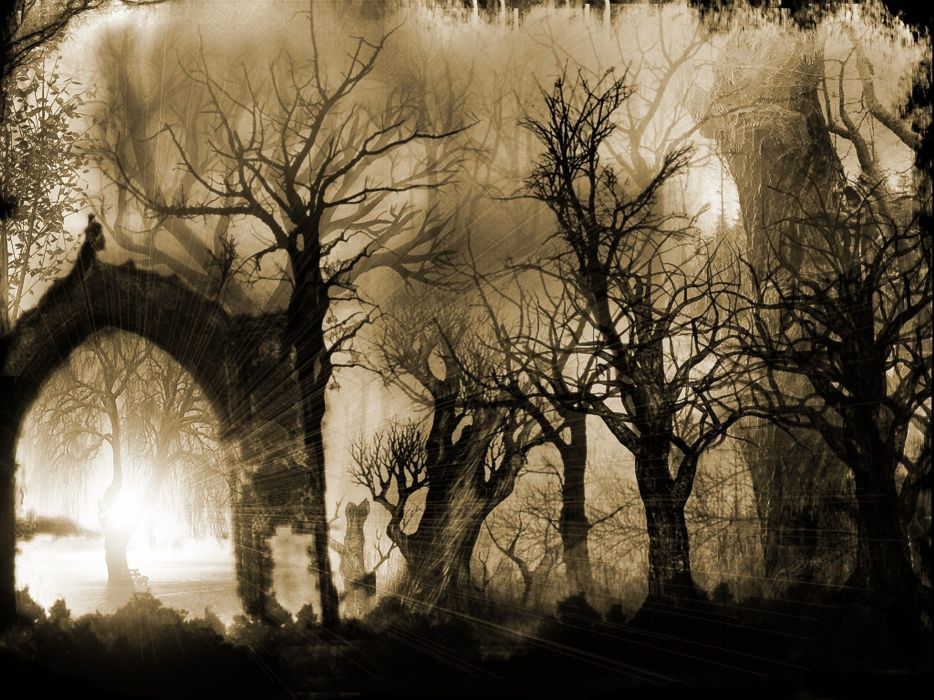 Sleepy Hollow dark horror gothic wallpaper
