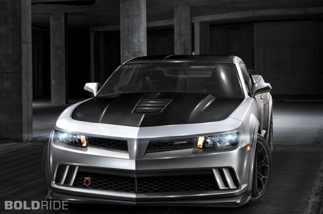 2014 Chevrolet Camaro muscle cars tuning wallpaper