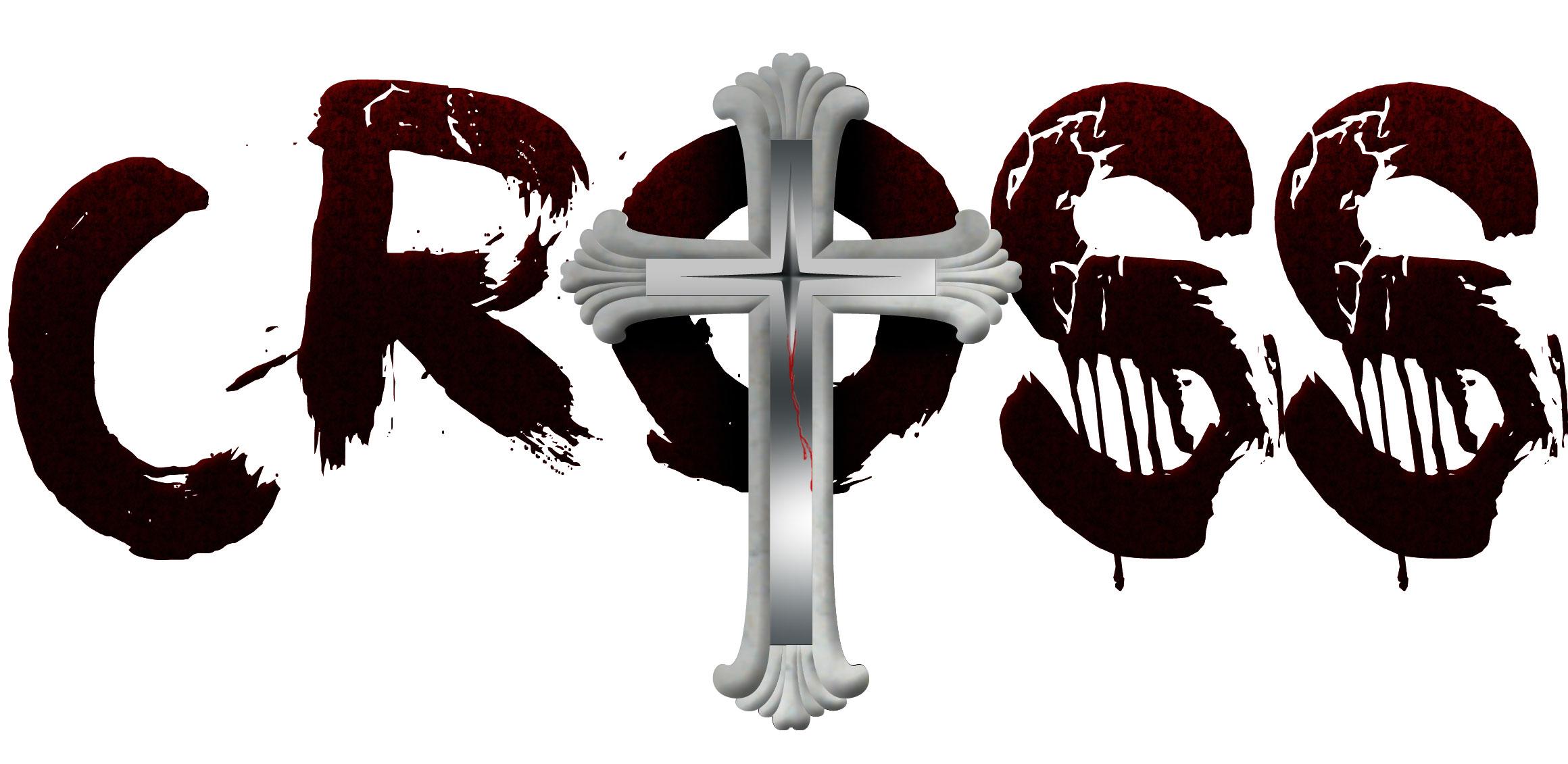 Crossed Logo Cross Church of Satan Logo