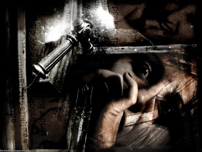 dark horror d wallpaper