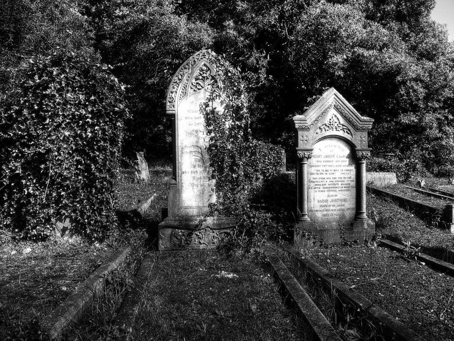 dark horror gothic grave cemetery wallpaper