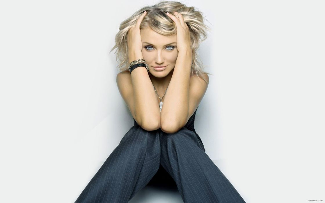 Cameron Diaz actress women females girls sexy babes wallpaper