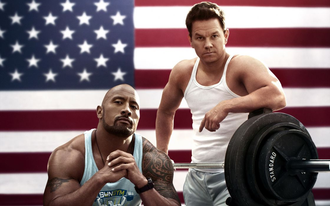 Anabolic steroids Pain and Gain Mark Wahlberg Mark Wahlberg Daniel Lugo Dwayne Johnson wallpaper