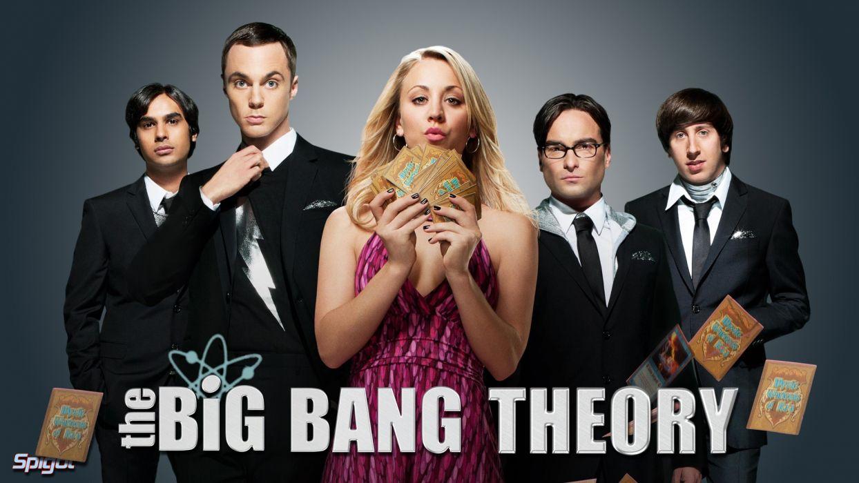 Big Bang Theory Kaley Cuoco Blonde Cards wallpaper