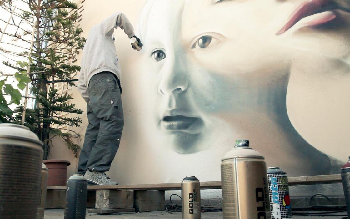city wall graffiti creativity wallpaper