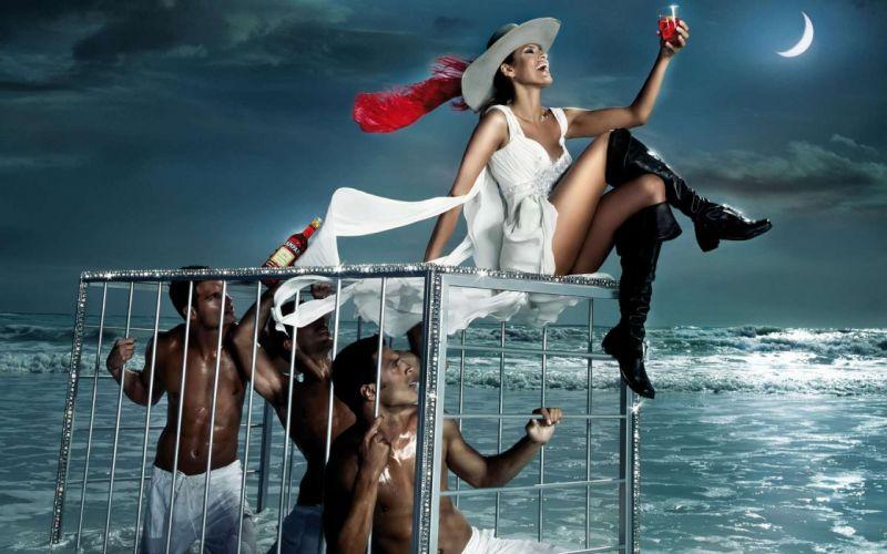 Eva Mendes Campari wallpaper