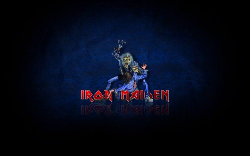 iron maiden heavy metal rock dark zombie wallpaper