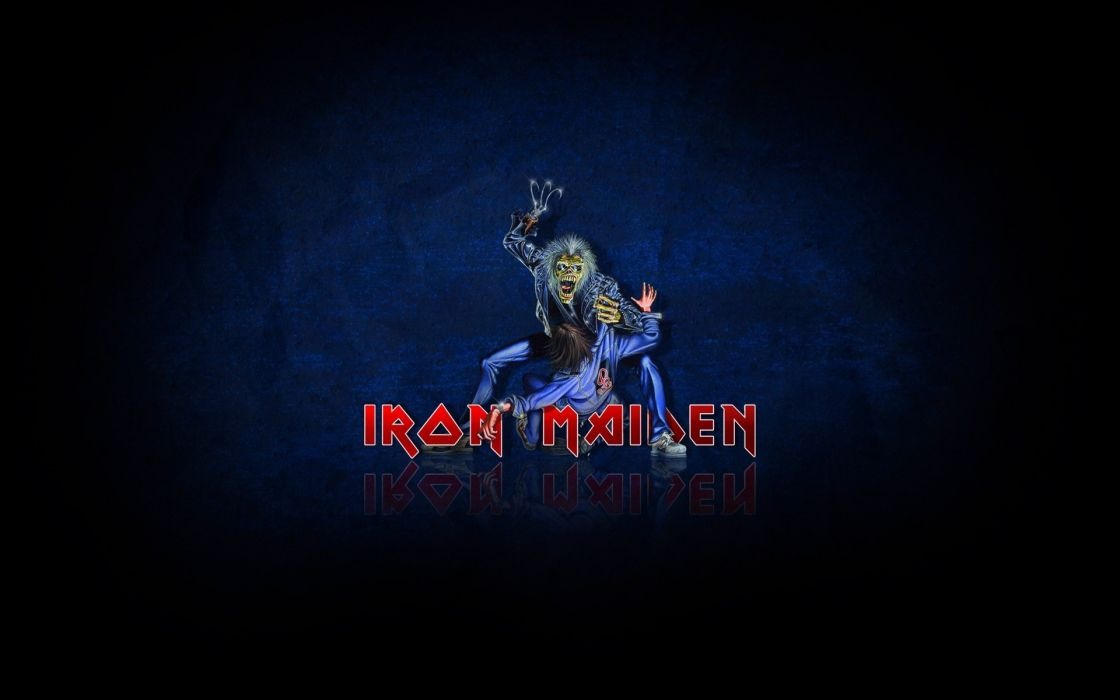 Iron Maiden Heavy Metal Rock Dark Zombie Wallpaper 1920x1200