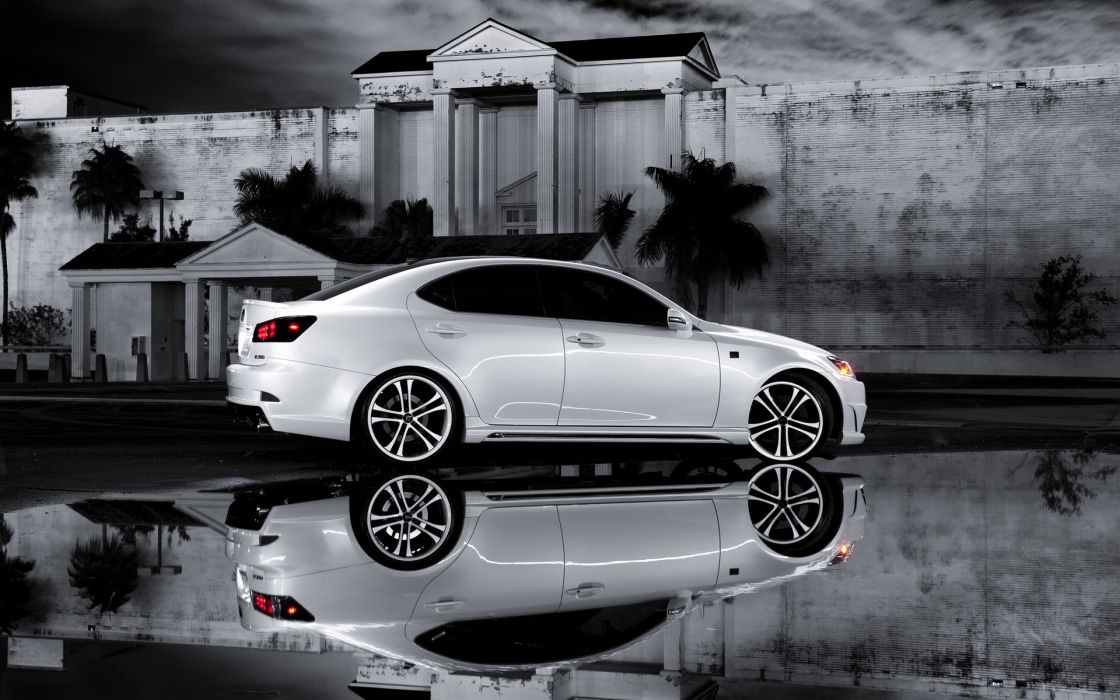 reflection Lexus wallpaper