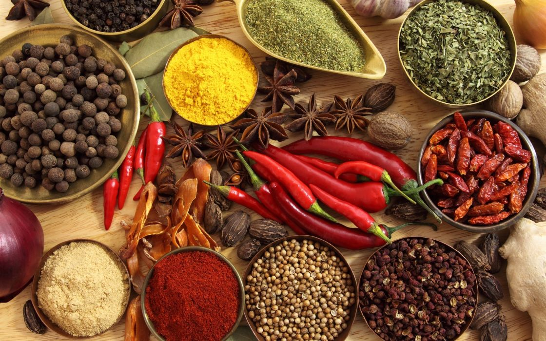 seasoning red pepper spices wallpaper