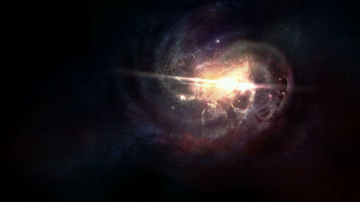 Stars Starlight nebula wallpaper