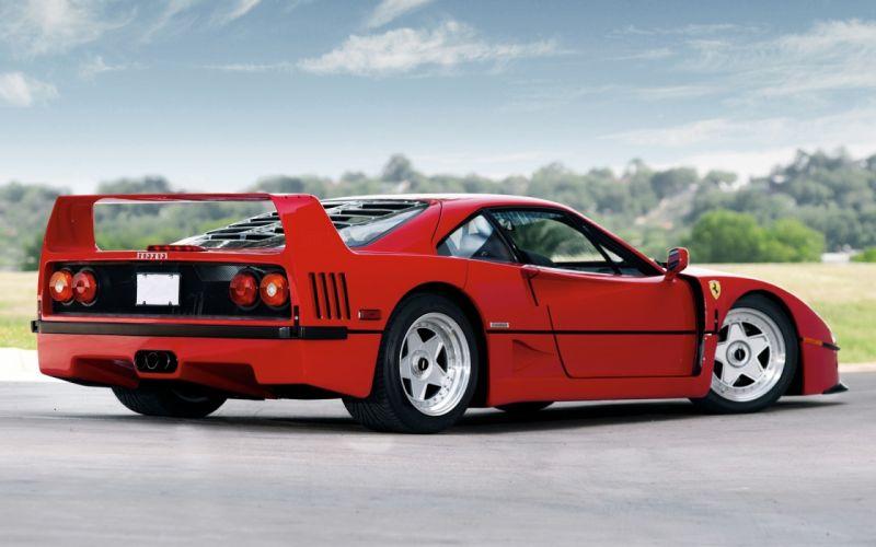 F40 1987 Ferrari supercars wallpaper