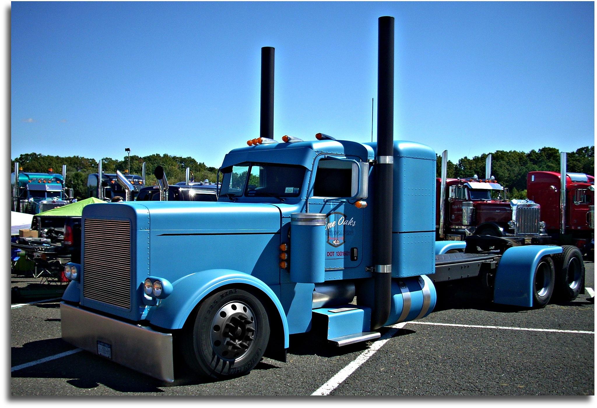 peterbilt truck 359 custom tractor semi rigs rig wallpaper