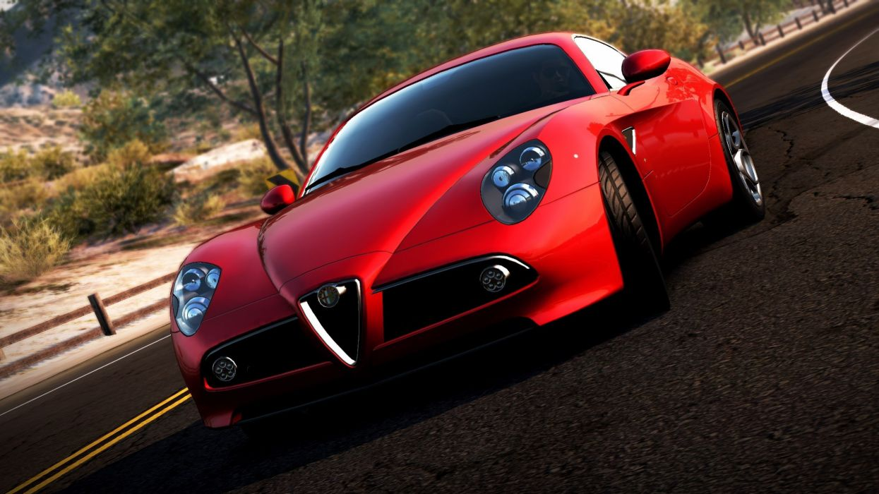 need for speed most wanted 2  Alfa Romeo  car  supercar  road wallpaper