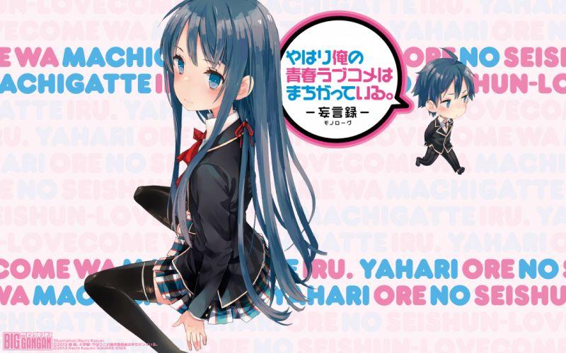 Yahari_Ore_no_Seishun_Love_Come_wa_Machigatteiru wallpaper