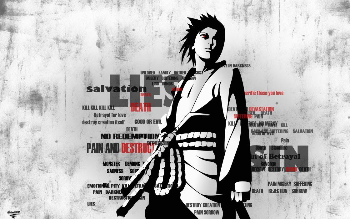 naruto shippuden uchiha sasuke wallpaper