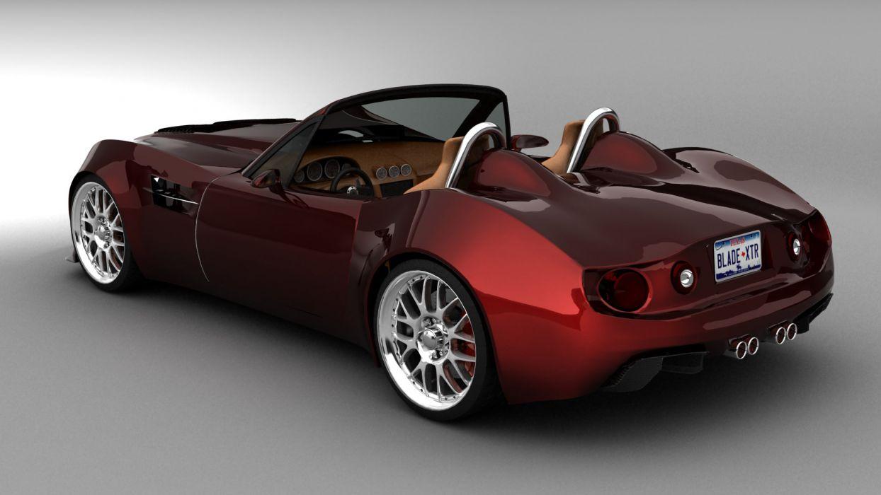 Bailey Blade Roadster Concept supercar        t wallpaper