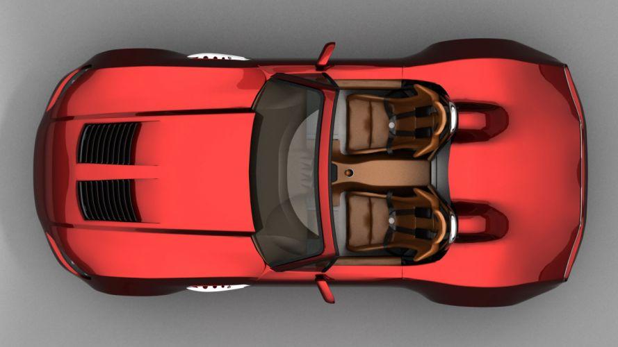 Bailey Blade Roadster Concept supercar e wallpaper