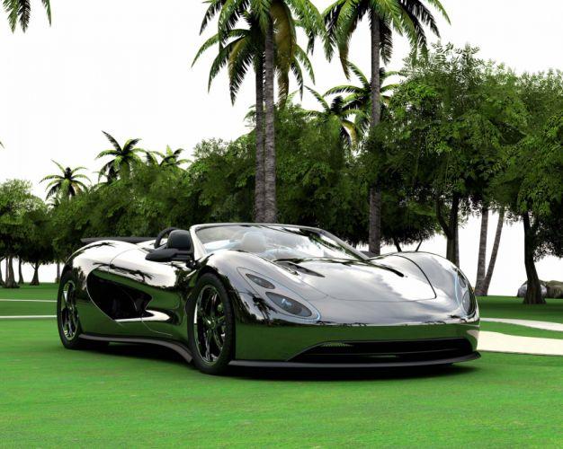 Ronn Motor Eco-Exotic Scorpion Supercar e wallpaper