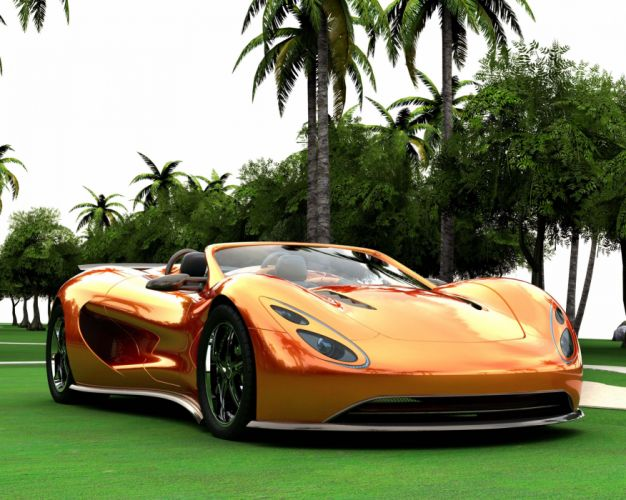 Ronn Motor Eco-Exotic Scorpion Supercar q wallpaper