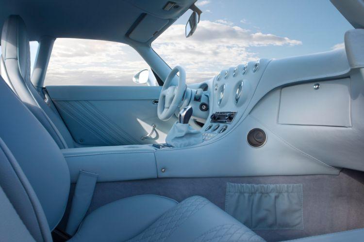Wiesmann GT-MF4 supercar interior wallpaper