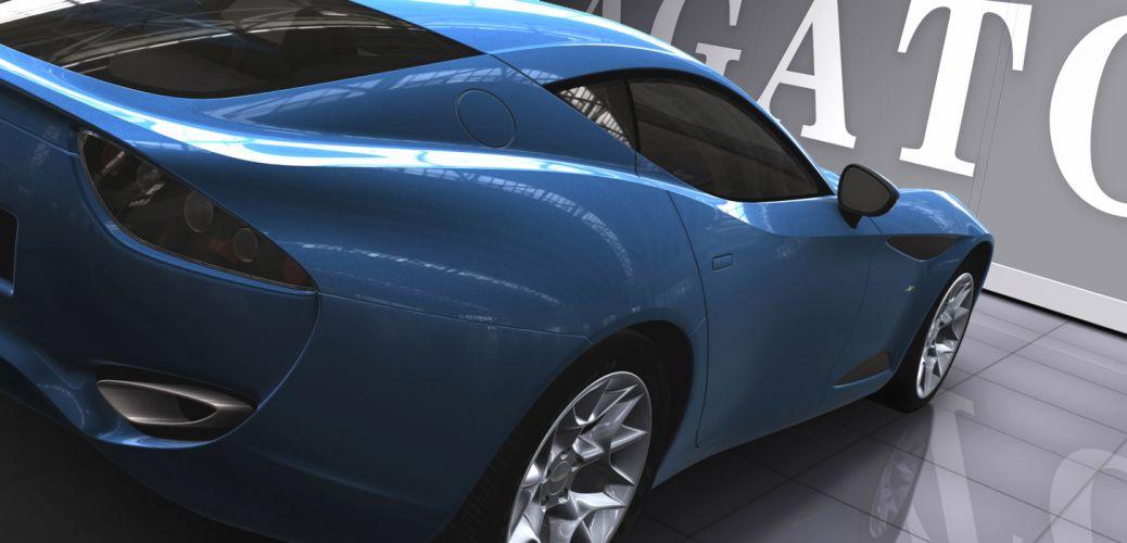 Zagato Perana Z-One supercar wallpaper