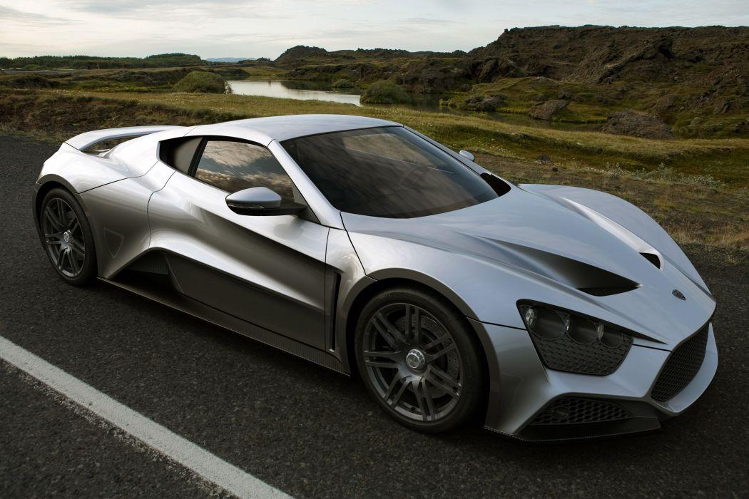 Zenvo ST1 supercar   e wallpaper
