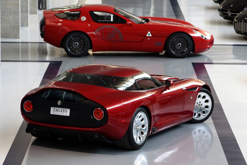 Zagato Alfa Romeo TZ3 Stradale supercar      d wallpaper