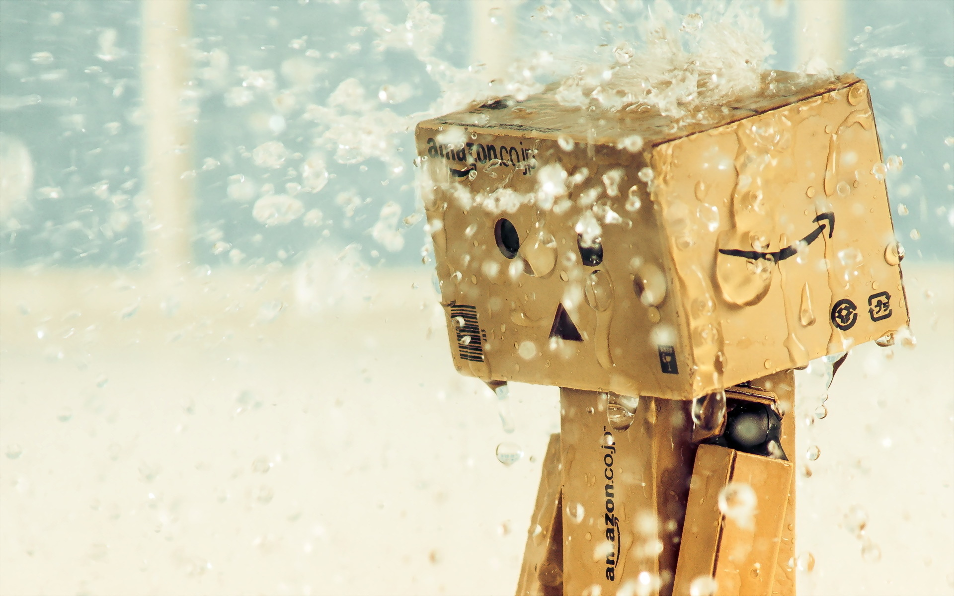 cardboard robot wallpaper hd - photo #4