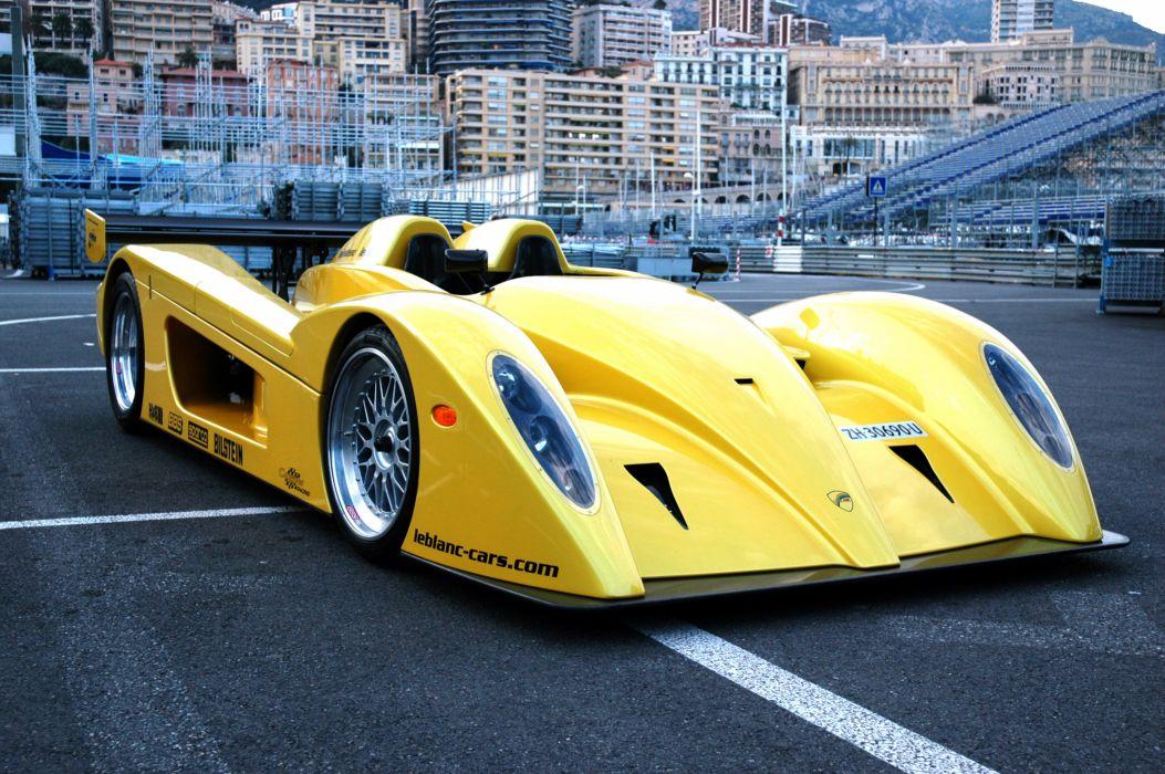 Leblanc Mirabeau race cars supercar         r wallpaper