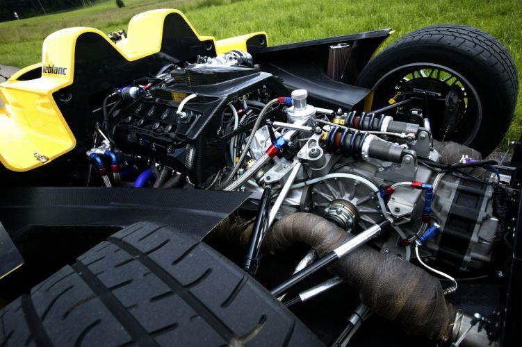 Leblanc Mirabeau race cars supercar engine wallpaper